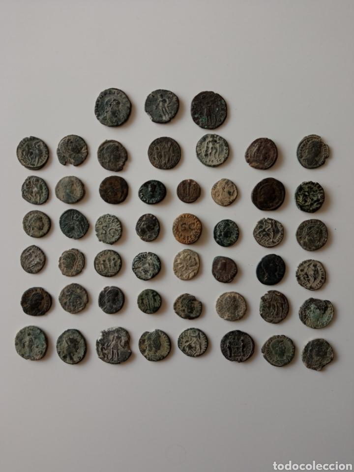 LOTE MONEDAS ROMANAS SIN CATALOGAR (Numismática - Periodo Antiguo - Otras)
