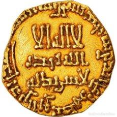 Monedas antiguas: MONEDA, ABBASID CALIPHATE, AL-MAHDI, DINAR, AH 158 (774/775), MBC, ORO. Lote 262761185