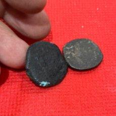Monedas antiguas: LOTE DE DOS ANTIGUA MONEDAS ORIGINALES IBÉRICAS O. Lote 263959805