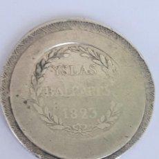Monedas antiguas: FERNANDO VII 5 PESETAS 1823. Lote 268947124