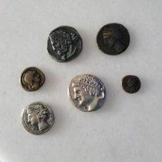Monedas antiguas: BONITO LOTE DE MONEDA RÉPLICAS FENICIA Y CARTAGINESA. Lote 269732068