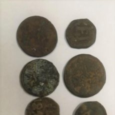 Monedas antiguas: LOTE DE 7 MONEDAS RARAS Y ANTIGUAS SIGLO XIII HASTA SIGLO XIX. VER FOTOS ADICIONALES. Lote 272718078