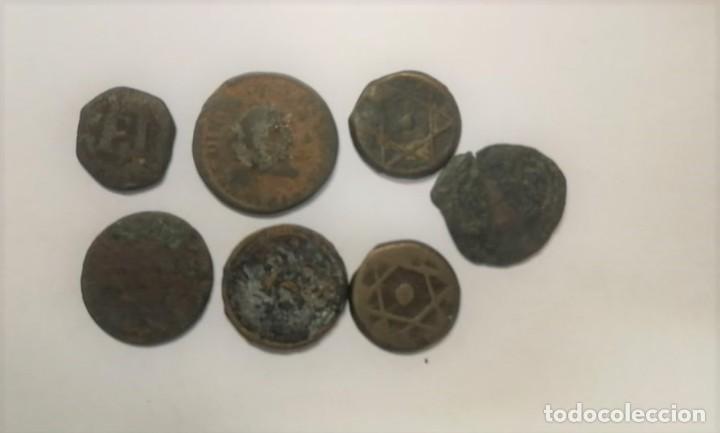 Monedas antiguas: LOTE DE 7 MONEDAS RARAS Y ANTIGUAS SIGLO XIII HASTA SIGLO XIX. VER FOTOS ADICIONALES - Foto 2 - 272718078
