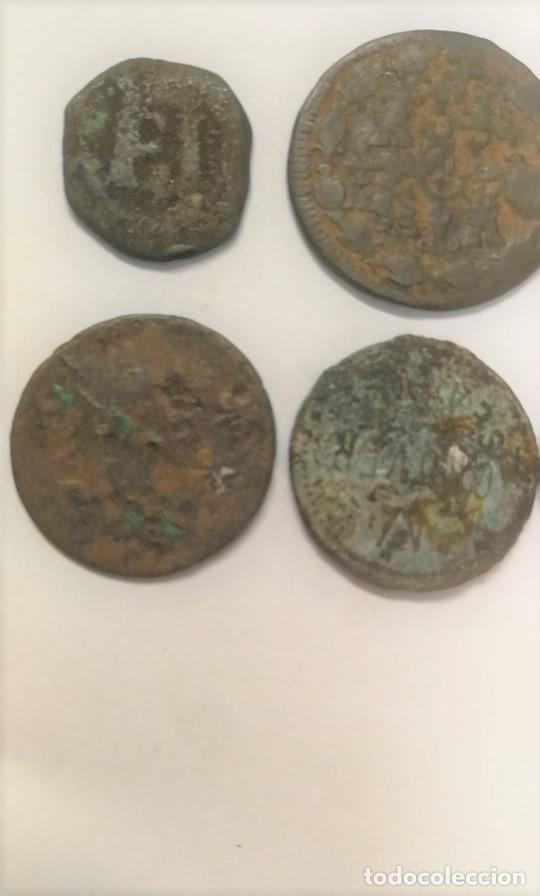Monedas antiguas: LOTE DE 7 MONEDAS RARAS Y ANTIGUAS SIGLO XIII HASTA SIGLO XIX. VER FOTOS ADICIONALES - Foto 3 - 272718078