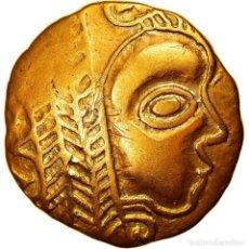 Monedas antiguas: [#970241] MONEDA, LEUCI, 1/4 STATER, 2ND-1ST CENTURY BC, EBC, ORO, DELESTRÉE:MANQUE.. Lote 275465633