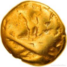 Monedas antiguas: [#897652] MONEDA, MORINI, 1/4 STATER, IST CENTURY BC, BC+, ORO, DELESTRÉE:249. Lote 276766018