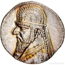 Monedas antiguas: [#867361] MONEDA, PARTHIA (KINGDOM OF), MITHRADATES II, DRACHM, EKBATANA, SC, PLATA. Lote 278223223