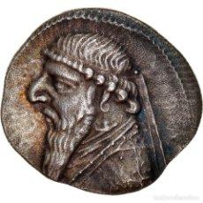 Monedas antiguas: [#867360] MONEDA, PARTHIA (KINGDOM OF), MITHRADATES II, DRACHM, RHAGAI, EBC, PLATA. Lote 278223258