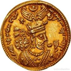 Monedas antiguas: [#970580] MONEDA, SASANIAN KINGS, KHUSRAU II, DINAR, RY 21 (610/611), EBC, ORO. Lote 279413473