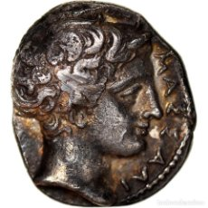 Monedas antiguas: [#970408] MONEDA, MASSALIA, OBOL, 425-400 BC, MARSEILLE, RARE, EBC, PLATA, FEUGÈRE &. Lote 279452168