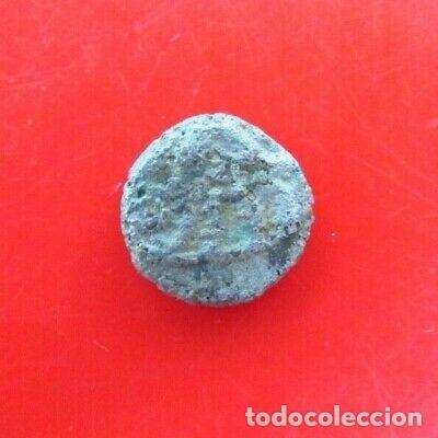 Monedas antiguas: BONITO OBOLO CELTA DE PLATA CABALLO. - Foto 2 - 282907668
