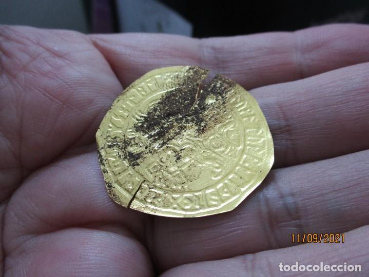 Monedas antiguas: bracteate vikinga Vadstena de Oro - Foto 2 - 287399063