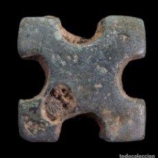 Monedas antiguas: PREMONEDA DE BRONCE - 14X14 MM / 2.85 GR.. Lote 290433323