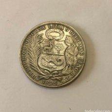 Monedas antiguas: UN SOL 9 DECIMOS 1894. Lote 295274728