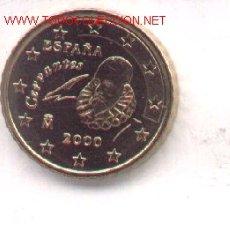 Monedas con errores: 3-71. ESPAÑA ERRORES. 10 CENT. EURO 2000. Lote 145775