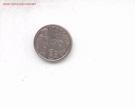 3-25. 5 PTAS 1993. ERROR RAYA. (Numismática - España Modernas y Contemporáneas - Variedades y Errores)