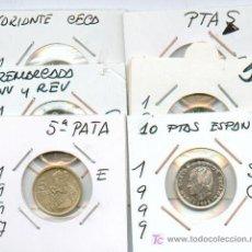 Monedas con errores: * ERRORES * ¡¡¡¡¡ O F E R T O N !!!!! 25 MONEDAS CON VARIANTES Y ERRORES. TODAS DIFERENTES. Lote 96336894