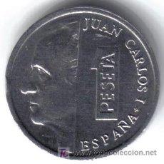 Coins with Errors - 1 PESETA 2001 - ANVERSO : CUÑO RAYADO REVERSO : BORROSO - 26759744