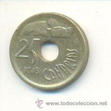 Monedas con errores: 3-147. MONEDA ERROR. 25 PTAS. 1994. DIBUJO MAL FORMADO. Lote 9001024