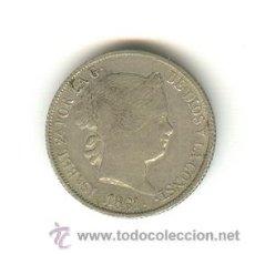 Monedas con errores: BONITOS CUATRO REALES 1861 BARCELONA FALSOS DE ÉPOCA. Lote 155108540