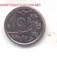 Monedas con errores: 3-109. 10 PTAS 1993. ISLAS DEFORMADAS. Lote 1134368