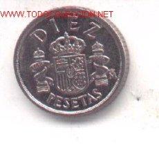 Monedas con errores: 3-110. 10 PTAS 1983. EXCESOS DE METAL. Lote 1134372