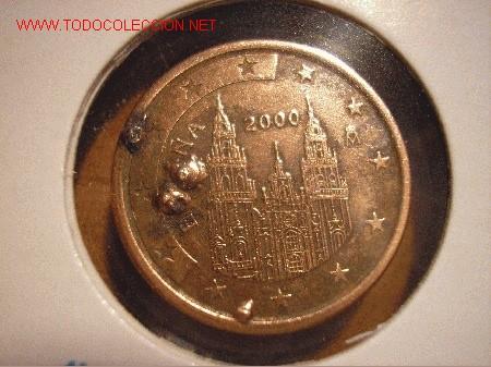 Error En Moneda De 5 Cts De Euro Comprar Monedas Con Errores Y