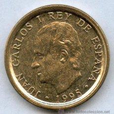 Monedas con errores: * ERROR * 100 PTAS 1995 SIN CIRCULAR LISTEL GRUESO Y DOBLE EN ANVERSO Y REVERSO. PRECIOSA. Lote 128847058
