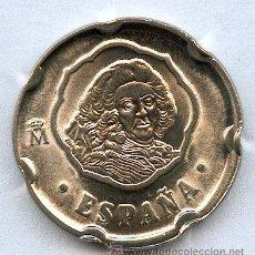 Monedas con errores: 50 PESETAS AÑO 1996 LIGERAMENTE DESPLAZADA, PRECIOSA Y SIN CIRCULAR. Lote 40882769