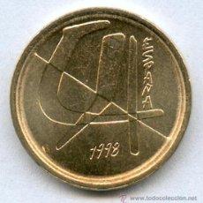 Monedas con errores: * ERROR *. 5 PESETAS AÑO 1998 -- LISTEL GRUESO ANVERSO Y REVERSO -- SIN CIRCULAR. Lote 47470710