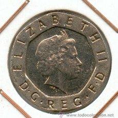Monedas con errores: * ERROR * EL UNICO RECONOCIDO POR LA ROYAL MINT (FABRICA DE LA MONEDA DE INGLATERRA) EN 300 AÑOS. Lote 26398520