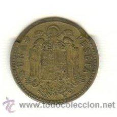 Monedas con errores: 11- RARA PESETA FRANCO AÑO 1963 CON ERROR REVERSO. Lote 27616705
