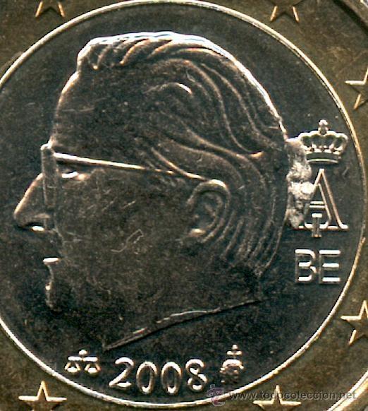 Error 1 Euro Año 2008 De Belgica Exceso D Comprar Monedas Con