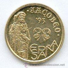 Monedas con errores: * ERROR * 5 PESETAS AÑO 1993 CON VARIOS EXCESOS DE METAL. DENOMINADA BARBA LARGA. SIN CIRCULAR. Lote 98091522