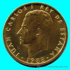 Monedas con errores: VARIANTE . JUAN CARLOS I .100 PESETAS 1988 . BUSTO GRANDE. Lote 25814506