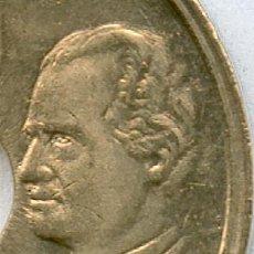 Monedas con errores: * ERROR* . VARIANTE DE CUÑO 25 PESETAS AÑO 2000. SIN HOMBRO. CON PLENO BRILLO ORIGINAL Y S.C.. Lote 39497527