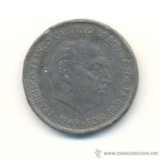 Monedas con errores: RARAS CINCO PESETAS DE FRANCO DEL AÑO 1949 ESTRELLAS 1949 ACUÑADAS EN PLOMO ?? MUY INTERESANTE. Lote 27645303