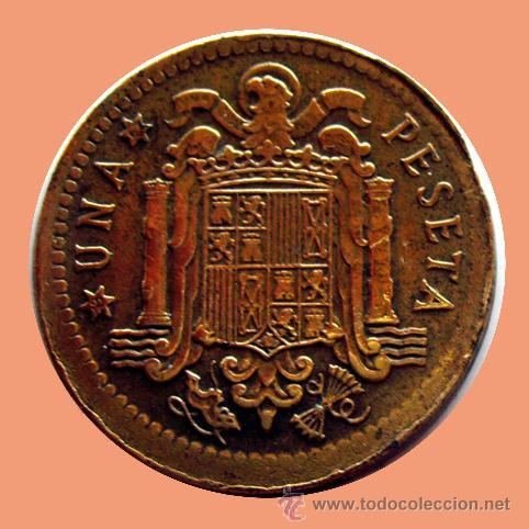 Monedas con errores: ERRORES Y VARIANTES. 1 PESETA 1963 *67 . DESPLAZADA - Foto 2 - 28615956
