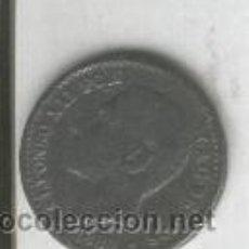 Monedas con errores: RARISIMA MONEDA.FALSA DE EPOCA.ALFONSO XII. 50 CENTIMOS. CALAMINA.ESCASA. Lote 28737589