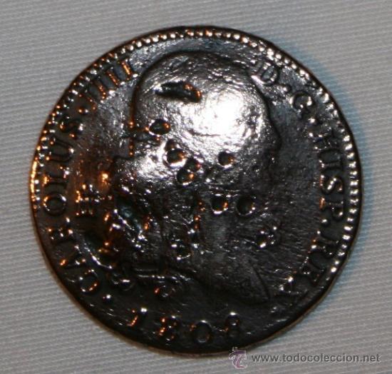 MONEDA CON UNA CURIOSA HISTORIA - 8 MARAVEDIS DE CARLOS IV - 1808 (Numismática - España Modernas y Contemporáneas - Variedades y Errores)