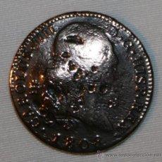 Monedas con errores: MONEDA CON UNA CURIOSA HISTORIA - 8 MARAVEDIS DE CARLOS IV - 1808 . Lote 30658640