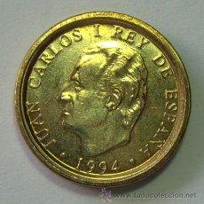 Coins with Errors - VARIEDADES Y ERRORES . JUAN CARLOS I. 100 PESETAS 1994 . CANTO ANCHO - 31192666