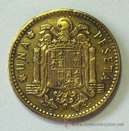 Monedas con errores: VARIEDADES Y ERRORES . 1 PESETA 1963 *67 . REPINTADA - Foto 2 - 31330561