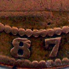 Monedas con errores: GOBIERNO PROVISIONAL . 10 CENTIMOS 1870 . FALSA DE ÉPOCA . MARCHIONNI. Lote 31380427