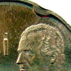 Coins with Errors - VARIEDADES Y ERRORES . JUAN CARLOS I . 50 PESETAS 1990 . EROSION DE TROQUEL . SIN CIRCULAR - 31391377
