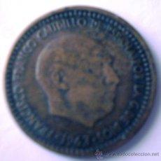 Monedas con errores: 1 PESETA 1963*66 CANTO CORONA. Lote 32783791
