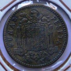Monedas con errores: 1 PESETA 1963*66 REPINTADA EN REVERSO. Lote 32743752