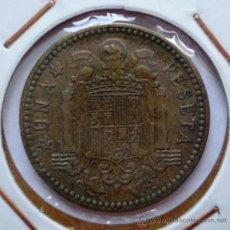 Monedas con errores: 1 PESETA 1963*67 REPINTADA EN REVERSO. Lote 32755236