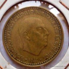 Monedas con errores: 1 PESETA 1966*68 PESO MAYOR 4 GRAMOS. Lote 32764421