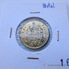 Monedas con errores: 1 PESETA METAL. Lote 34072237